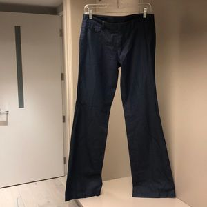 Gucci cotton wide leg jean colored pants